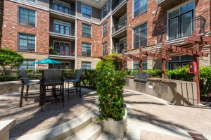 One Bedroom Apartments for Rent in Houston, TX - Outside Grilling Area with Tables